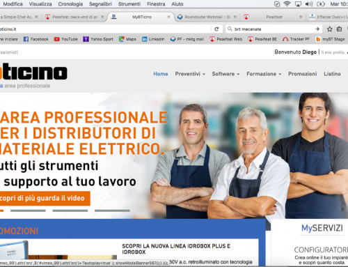 CRM strategies for BiTicino