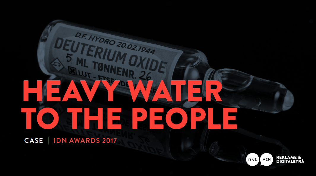 Heavy Water to the People