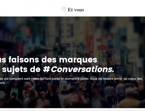 Brand new website for the most conversational French agency
