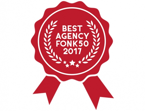 "Winners of Fonk best ""Activation"" company in 2017"