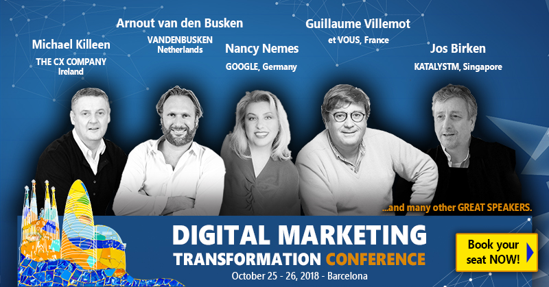 Are you ready for the next IDN event? The Digital Marketing Transformation Conference and IDN Creative and Strategic Forum 2018 are getting closer!
