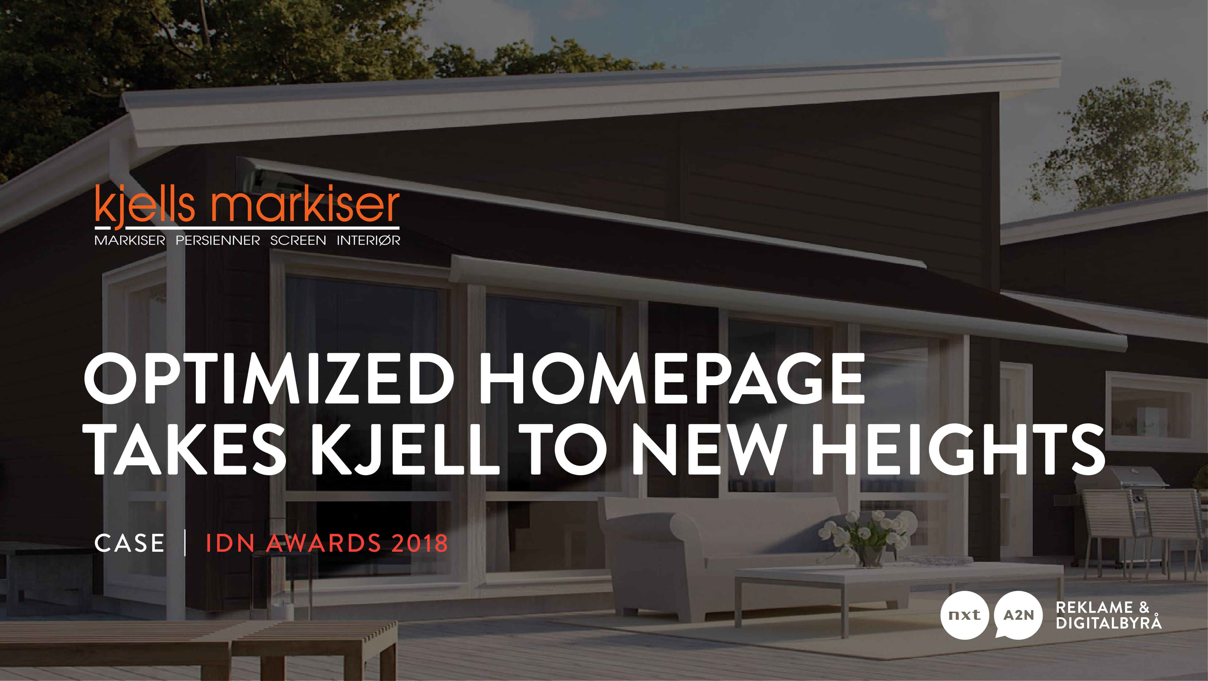 Optimized homepage takes Kjell to new heights