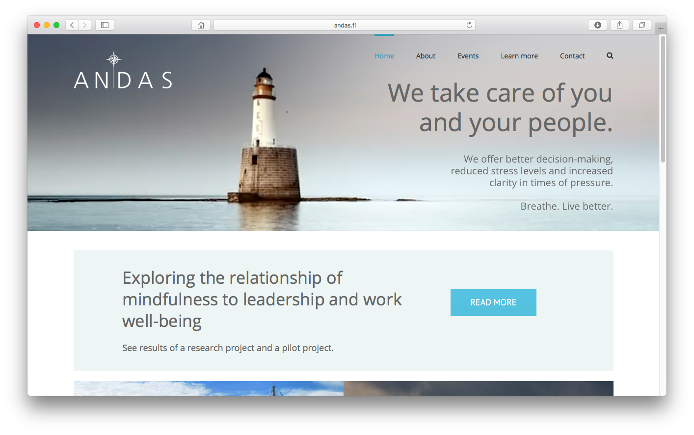Andas – A controlled and profitable business extension was explored and launched with help of social network analysis