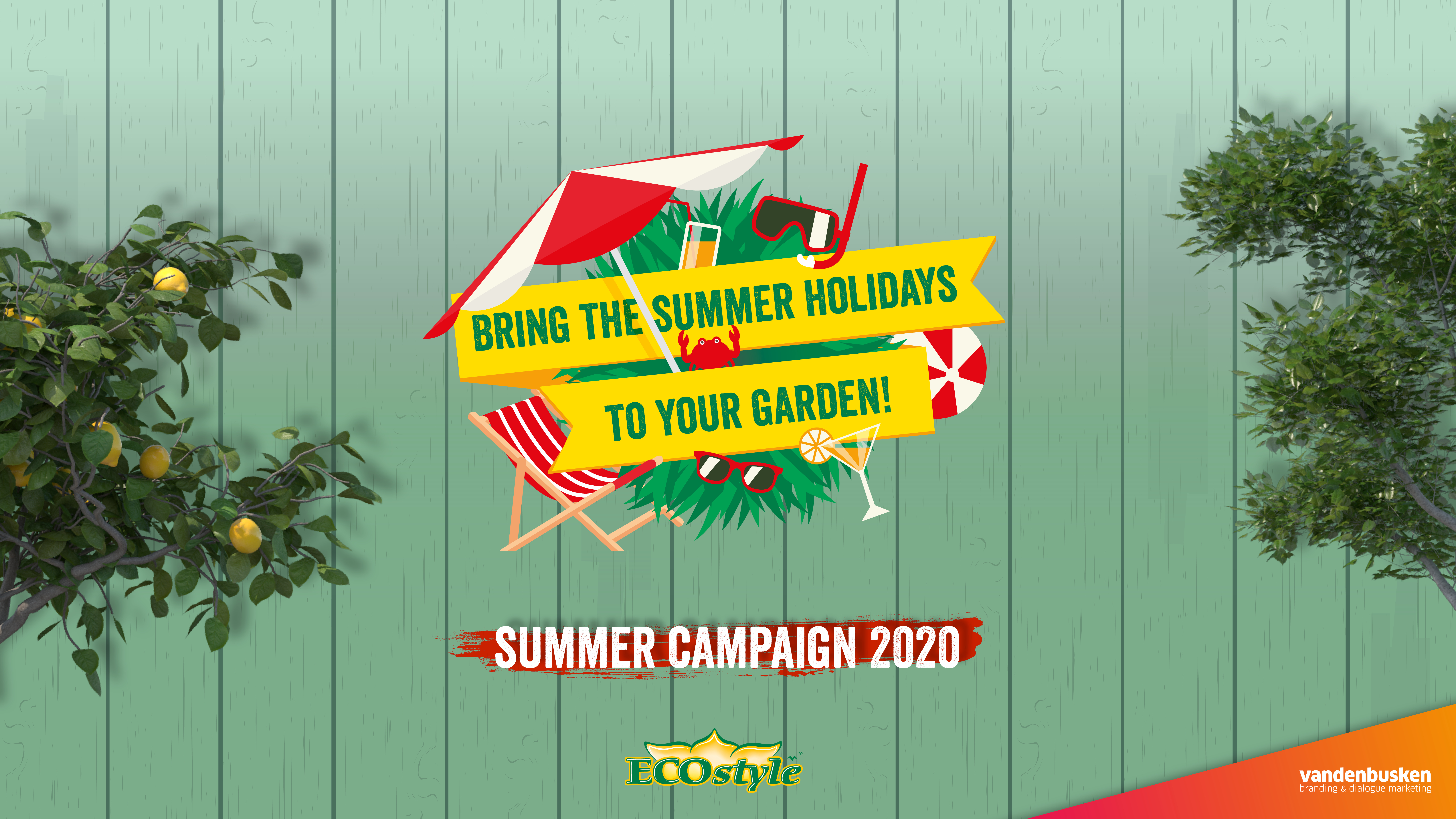 Bring the summer holidays to your garden! Summer campaign 2020