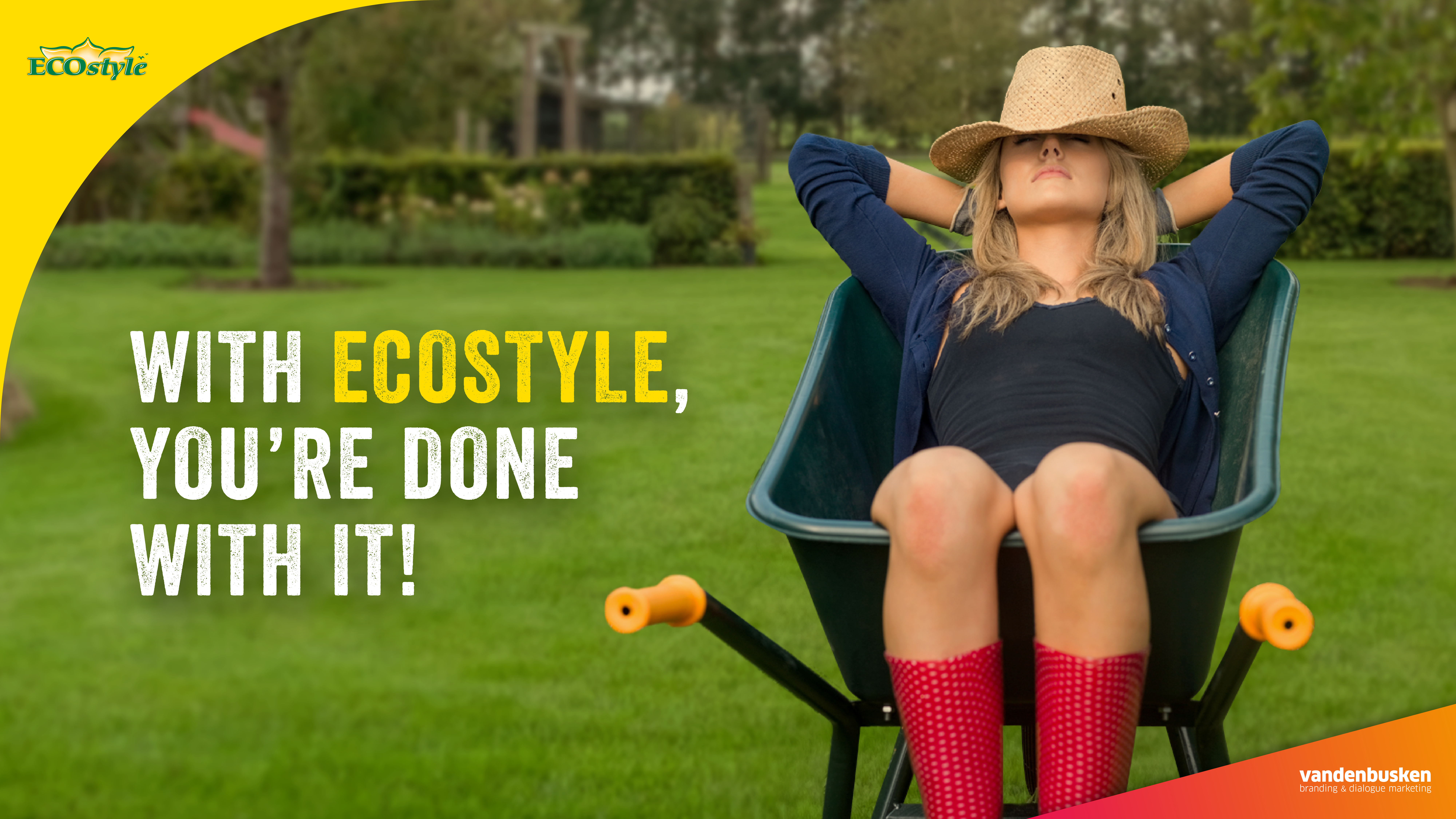 With ECOstyle, you're done with it! Spring campaign 2020